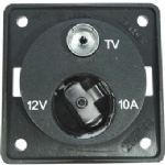 Berker 12V Cigar TV point Anthracite